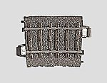 (bulk of 6) 3-Rail C Track R2 Curve 17-1/4'' Radius -- HO Scale Nickel Silver Model Train Track -- #24206