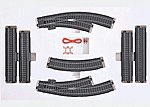 3-Rail C Track - C3 Extension Set -- HO Scale Nickel Silver Model Train Track -- #24903