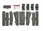 3-Rail C Track - C5 Extension Set -- HO Scale Nickel Silver Model Train Track -- #24905