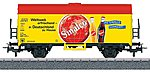 Sinalco Refrigerator Car -- HO Scale Model Train Freight Car -- #44213