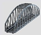 K/M Arched Bridge 14 1/8 -- HO Scale Model Railroad Bridge -- #7263