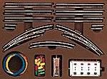 T2 Extension Set w/Electric Turnouts -- Z Scale Nickel Silver Model Train Track -- #8193