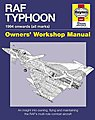 RAF Typhoon 1994 Onwards Owners Workshop Manual (Hardback) -- Model Instruction Manual -- #758
