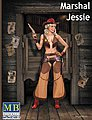 1/24 Marshal Jessie Western Style Pin-Up Cowgirl