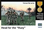Head for the Huey US Soldiers Vietnam (5) -- Plastic Model Military Figure -- 1/35 Scale -- #35107