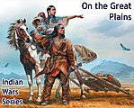 1/35 On The Great Plaines Indian w/Woman, Child, Horse & Accessories (New Tool)