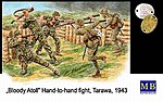 Hand to Hand Combat Tarawa 1943 -- Plastic Model Military Figure -- 1/35 Scale -- #3544
