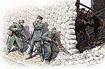 German Mtn Troops & Soviet Marines (6) -- Plastic Model Military Figure -- 1/35 Scale -- #3571