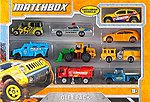 Matchbox 9-Vehicle Gift Pack -- Diecast Model Car Truck -- 1/64 Scale -- #x7111