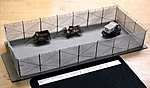 10' High Security Fence - HO-Scale