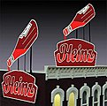 Heinz Ketchup Sign Kit -- O/HO Scale Model Railroad Accessory -- #1081