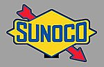 SUNOCO ROTATING SIGN -- O Scale Model Railroad Sign -- #55015