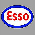 ESSO ROTATING SIGN -- O Scale Model Railroad Sign -- #55050