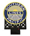 Southern Pacific Small Animated Neon Billboard Kit -- HO Scale Model Railroad Sign -- #7072