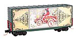 40' Hy-Cube Boxcar Modified w/Flat Sides -- N Scale Model Train Freight Car -- #10100811