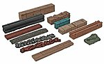 Mixed Load (12) -- Z Scale Model Train Freight Car Load -- #79943991