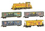 Zombie Halloween Train-Only Set - Terminus Shortline -- N Scale Model Train Set -- #99321230