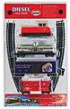 Diesel Set Santa Fe Warbonnet Red/Silver -- HO Scale Model Train Set -- #1020-9