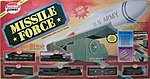 Missile Force E-Z Track -- HO Scale Model Train Set -- #1068