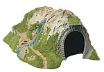Curved Tunnel -- HO Scale Model Railroad Tunnel -- #1324