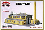 Brewery Kit -- N Scale Model Railroad Building -- #1509