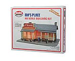 Ma's Place Kit -- HO Scale Model Railroad Building -- #190