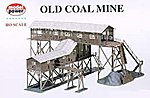 Old Coal Mine Kit -- HO Scale Model Railroad Building -- #316