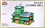 Lumber Yard Kit -- HO Scale Model Railroad Building -- #407