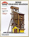Coaling Station Kit -- HO Scale Model Railroad Building -- #410