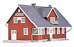 Chester Station Kit -- HO Scale Model Railroad Building -- #454