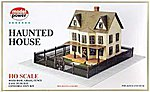 Haunted House Kit -- HO Scale Model Railroad Building -- #486