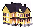 Grandma's House Kit -- HO Scale Model Railroad Building -- #487