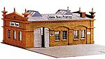 Herald Tribune & Globe News Built-Up -- HO Scale Model Railroad Building -- #578