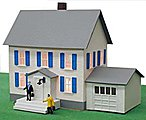 Sinatra's House Built-Up -- HO Scale Model Railroad Building -- #584