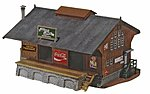Warehouse Building Kit -- HO Scale Model Railroad Building -- #622