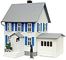 Sinatra's House Lighted Built-Up -- O Scale Model Railroad Building -- #6351