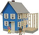 Mr. Roger's House Lighted Built-Up -- O Scale Model Railroad Building -- #6352