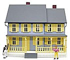 Jordan's House Built-Up -- O Scale Model Railroad Building -- #6357