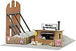 Mickey's Fruit Stand Built-Up -- HO Scale Model Railroad Building -- #682