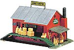 Warehouse Built-Up -- HO Scale Model Railroad Building -- #774
