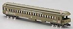 Heavyweight Observation - Ready to Run -- United States Army Troop Carrier/Hospital (olive) - N-Scale