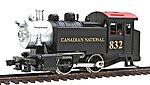 0-4-0 Tank Switcher Canadian National -- HO Scale Model Train Steam Locomotive -- #96502