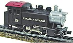 0-4-0 Tank Switcher DCC Canadian National -- HO Scale Model Train Steam Locomotive -- #965021