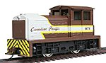 Diesel DDT Plymouth Industrial Powered (Canadian Pacific) -- HO Scale Model Railroad -- #96674