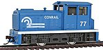 DDT Plymouth Industrial Powered Conrail -- HO Scale Model Train Diesel Locomotive -- #96679