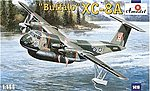 XC8A Buffalo USAF Aircraft -- Plastic Model Airplane Kit -- 1/144 Scale -- #1419