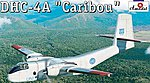 DHC4A Caribou Cargo Aircraft -- Plastic Model Airplane Kit -- 1/144 Scale -- #1468