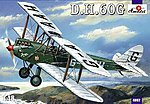 DeHavilland DH60G 2-Seater Gipsy Moth BiPlane -- Plastic Model Airplane Kit -- 1/148 Scale -- #4802