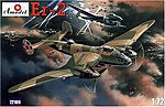 ER2 USSR Air Force Long Distance Bomber -- Plastic Model Airplane Kit -- 1/72 Scale -- #72109