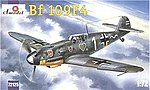 Messerschmitt Bf109F4 WWII German Fighter -- Plastic Model Airplane Kit -- 1/72 Scale -- #72125